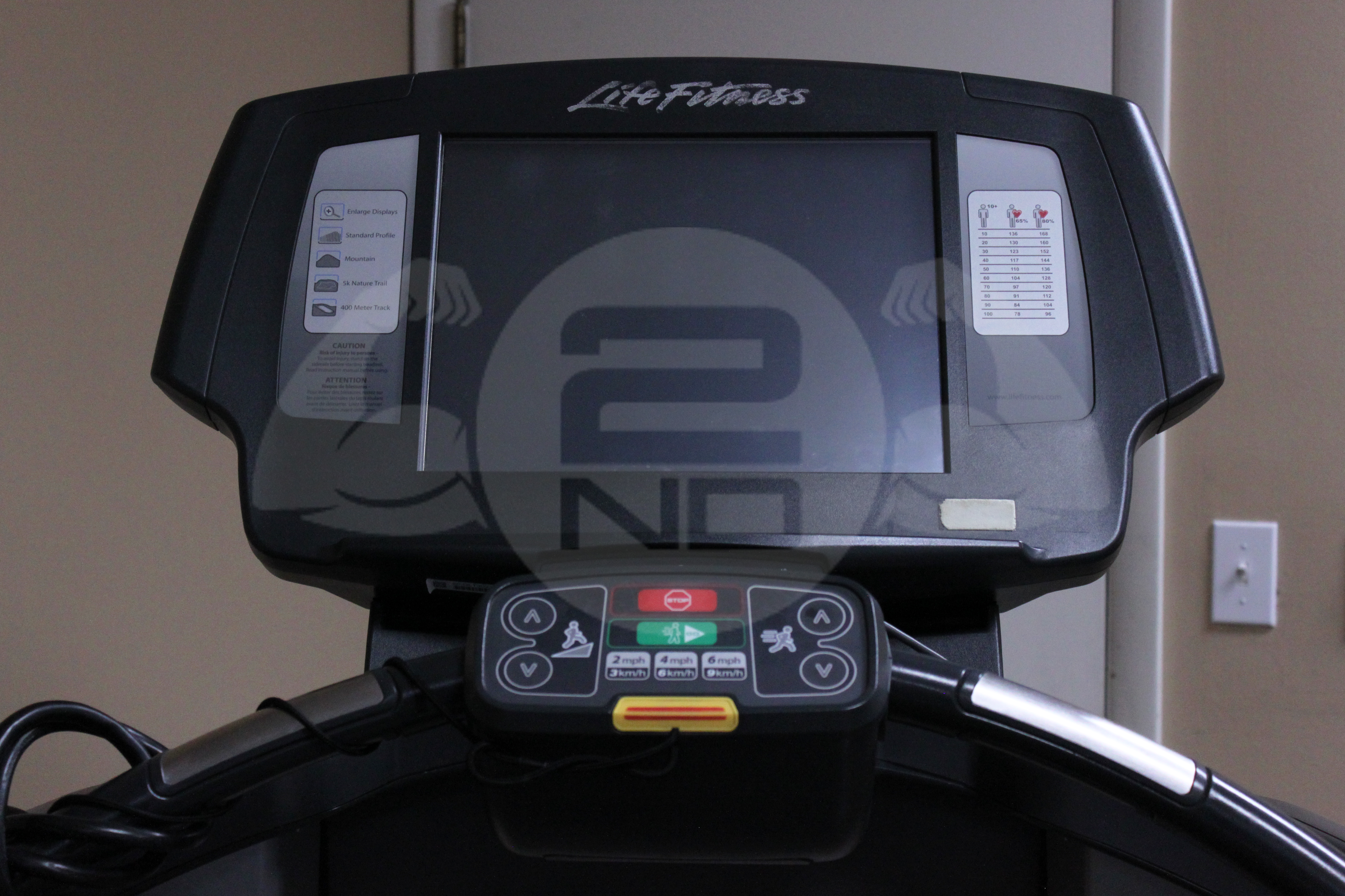 Life Fitness 95T Engage Treadmill _ 2nd Round Fitness