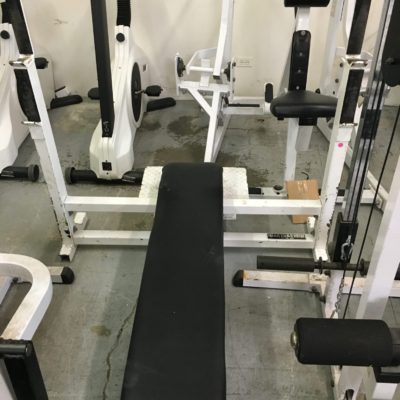 Misc Olympic Flat Bench _ 2nd Round Fitness