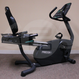 Precor C846 Soft Touch Recumbent Bike _ 2nd Round Fitness
